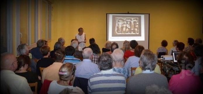 Conférence de Martine Pétrini-Poli à St Clément-sur-Guye 31/07/2015 Martin10