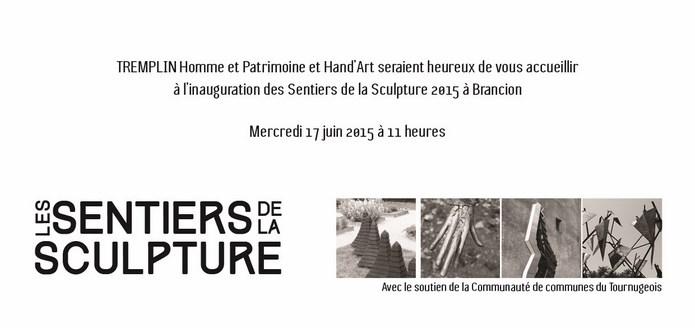 Inauguration des sentiers de la sculpture 2015 à Brancion - mercredi 17 juin à 11 heures Sentie10