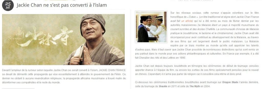 Jackie Chan et l'islam Jackie10