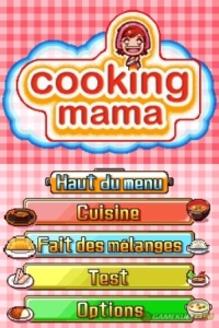 [DOSSIER] Cooking Mama Me000011