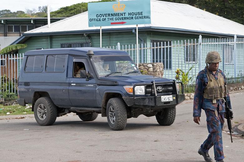 Force de défense de Papouasie Nouvelle-Guinée  / Papua New Guinea Defence Force (PNGDF) Pua810
