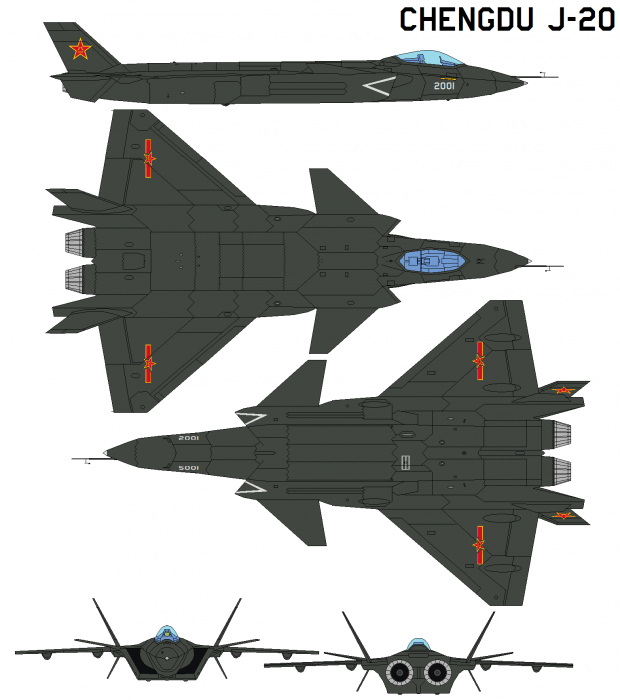 Chinese Chengdu J-20 stealth fighter - Page 7 115