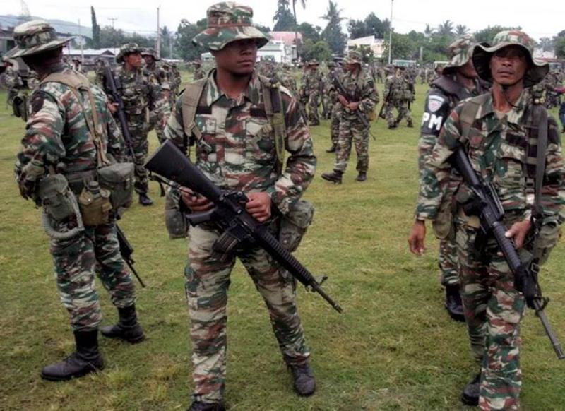 Force de défense du Timor oriental /  The East Timor defence force  1228