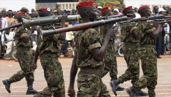 Armées de la République centrafricaine  485