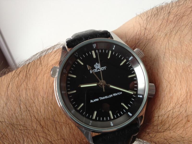 La première montre Poljot10