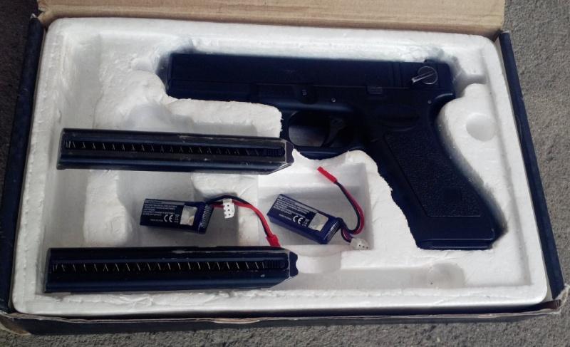 VANDUT - Pistol elctric Glock 18C Cyma cm.030 Pistol11