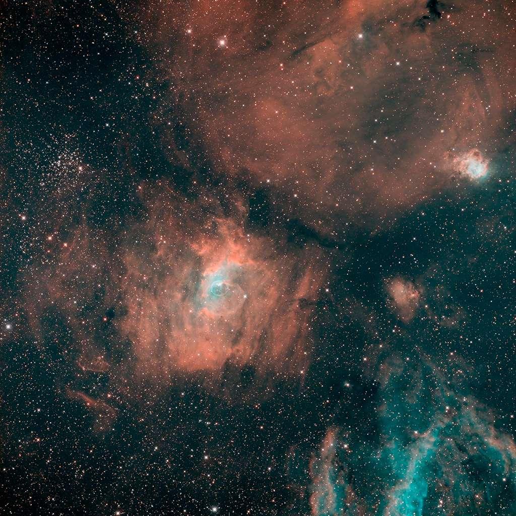 NGC7635 au CCA250, SHO 35H de pose Ngc76310