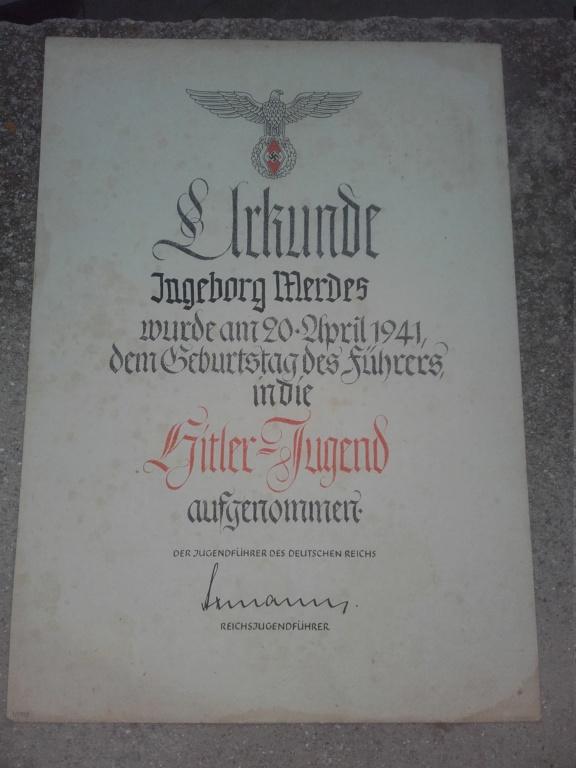 2 diplomes allemand dont un doré  20190326