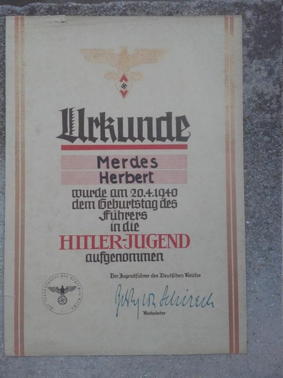 2 diplomes allemand dont un doré  20190327