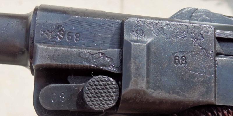 Réflexions sur la production de pistolets Luger P 08, par Mauser, en 1945-1946. - Page 2 110
