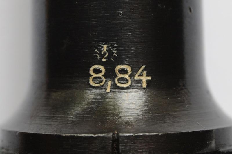 Un rare Luger de police, Erfurt-Mauser daté de 1940. Aigle_10