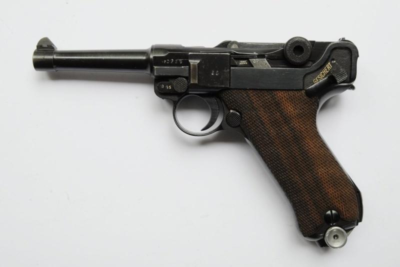 Un rare Luger de police, Erfurt-Mauser daté de 1940. Erfurt11