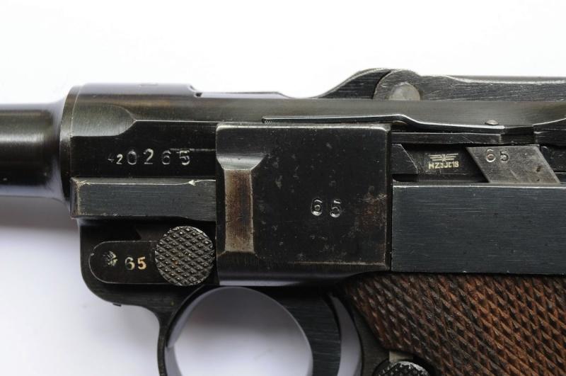 Un rare Luger de police, Erfurt-Mauser daté de 1940. Erfurt14