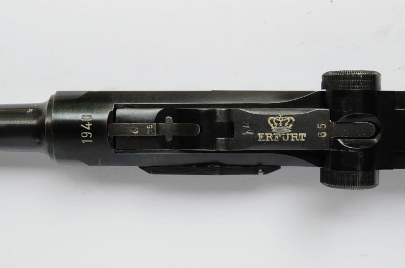 Un rare Luger de police, Erfurt-Mauser daté de 1940. Erfurt17