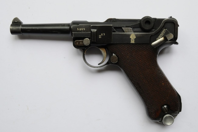 Un rare P 08 K, S/42 de la Kriegsmarine. Mauser13