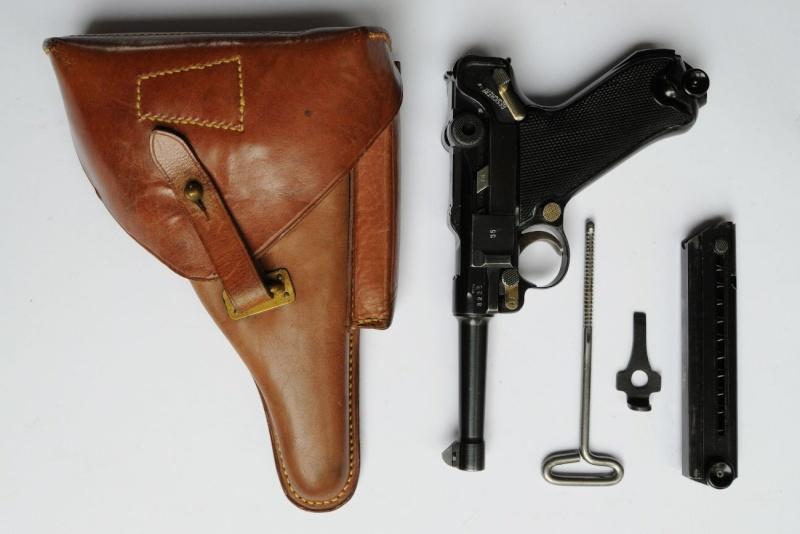 Un rare Luger commercial-armée portugaise code byf 42. Mauser20