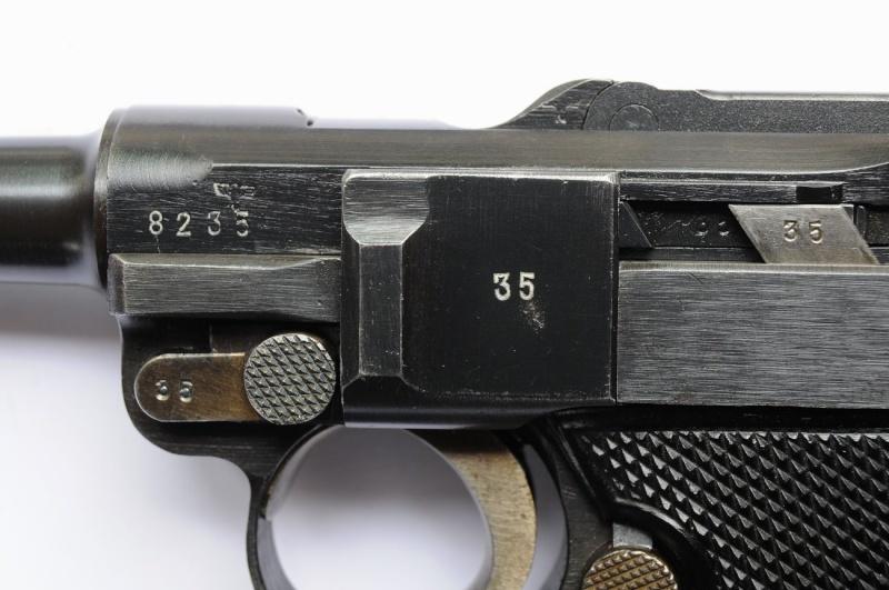 Un rare Luger commercial-armée portugaise code byf 42. Mauser23