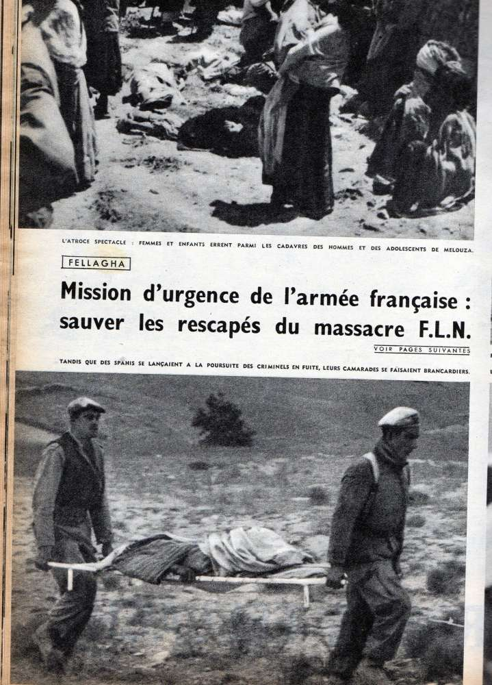MASSACRE DE MELOUZA  PARIS-MATCH 27 juin 1954 Img48310