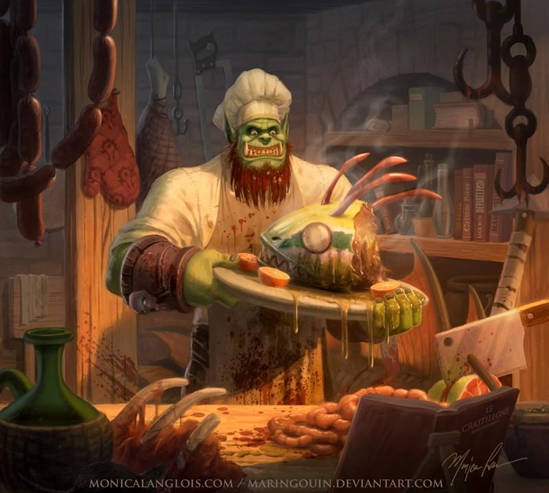 Haïkki, maître boucher - Page 2 Fanart10