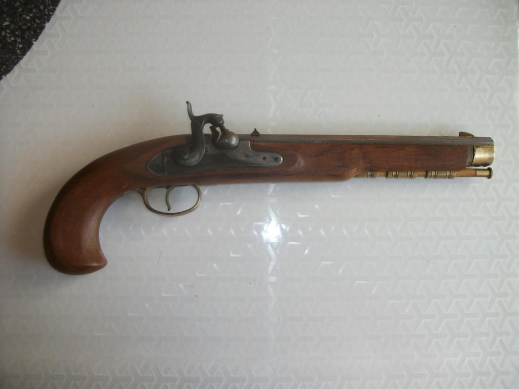 Estimation Pistolets poudre noire 00116