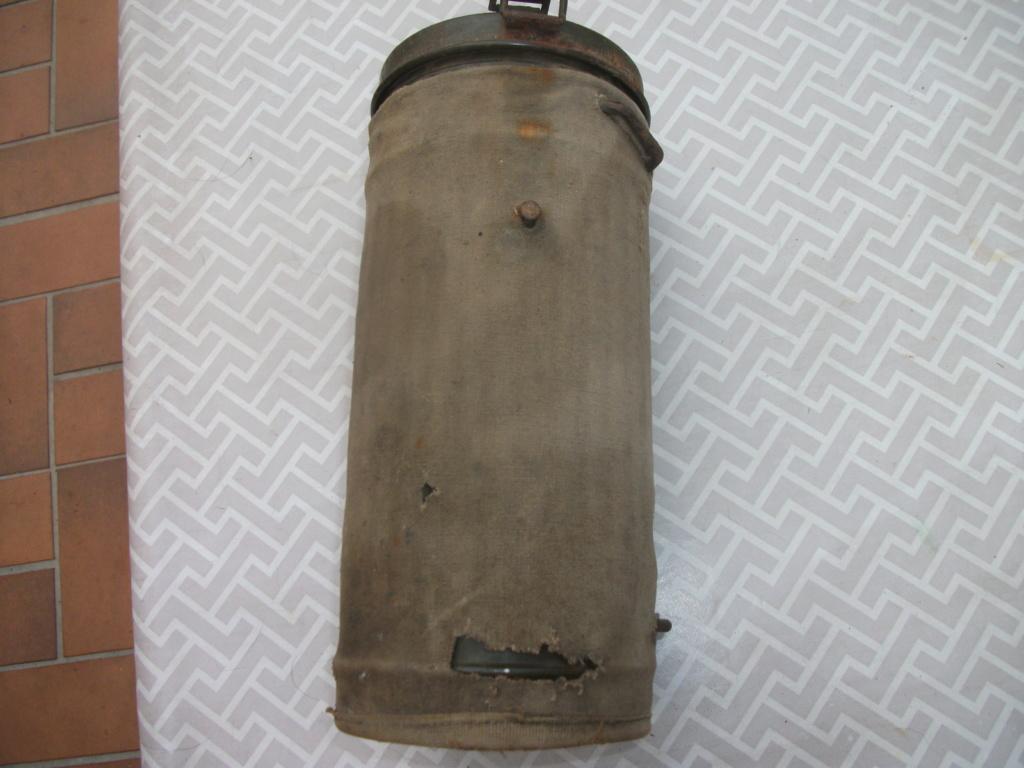 Boitier masque à gaz All 00411