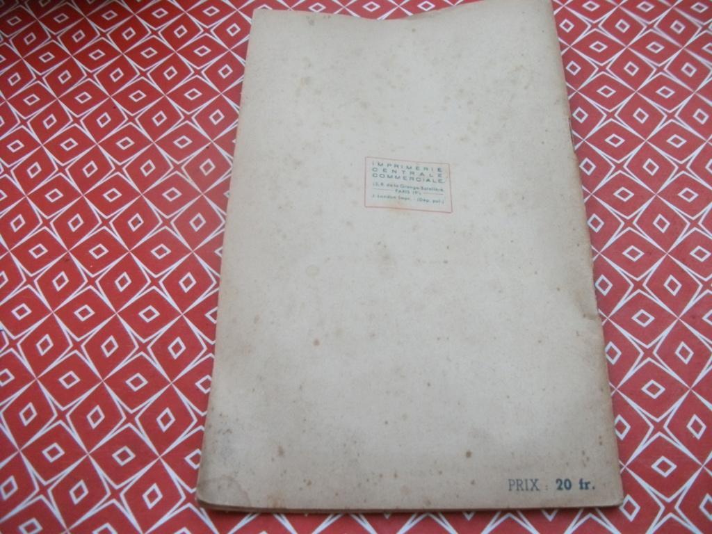 Livrets et papiers 04210