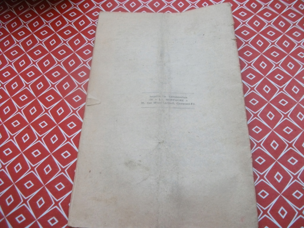 Livrets et papiers 04610