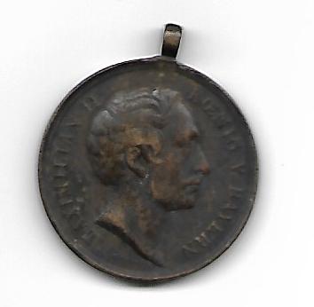 Médaille Maximilian II de Bavière 1849 Scan10