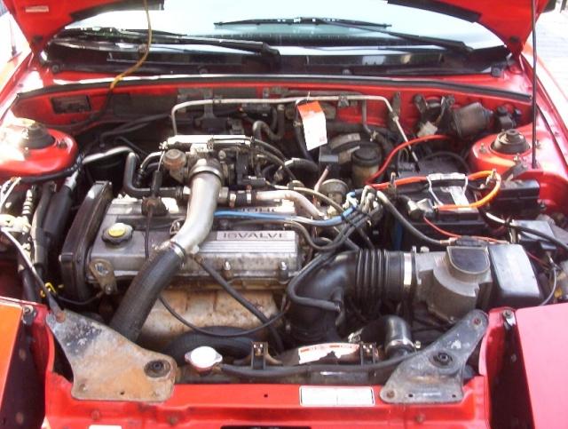 Ford Capri 1991 Moteur10
