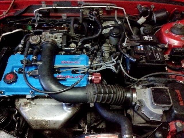 Ford Capri 1991 Moteur11