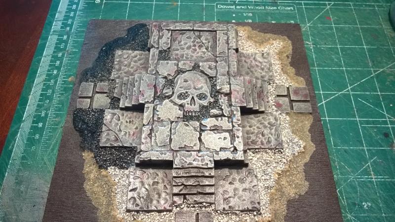 "Arcane Ruins (8"" x 8"") Wp_20146"