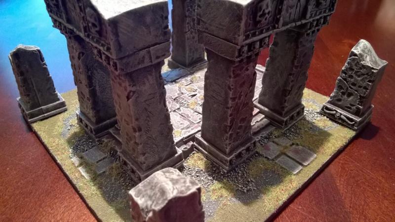 "Arcane Ruins (8"" x 8"") Wp_20150"