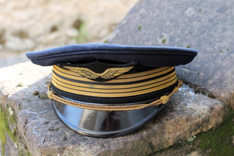 Casquette Colonel aviation 2nde Guerre (+ couvres casquettes) - ESC 1 [VENDU] Img_8410
