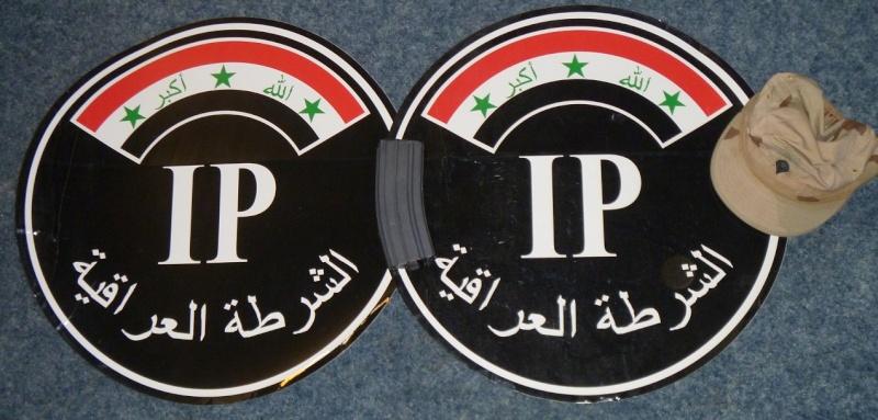 Iraqi Police (IP) vehicle decals. Sticke10