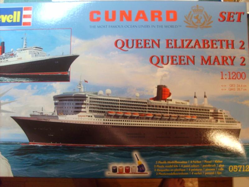 Queen Elizabeth 2 Revell 1/1200 S5000010