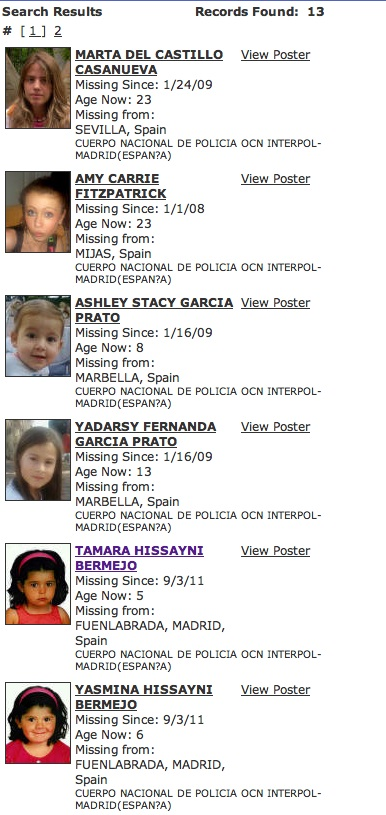 Missing People - and Missingkids, a CEOPS site, posting details of non existent person - Page 2 Icmec-10