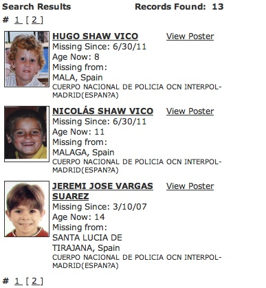Missing People - and Missingkids, a CEOPS site, posting details of non existent person - Page 2 Icmec-12