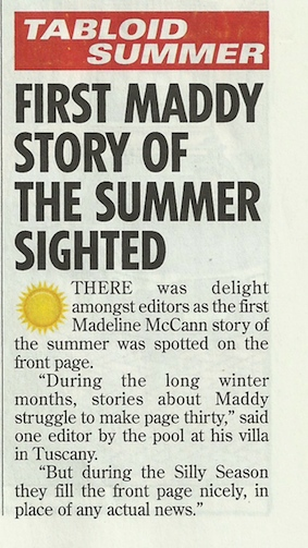 With acknowledgements and sincere apologies to Private Eye Maddie10