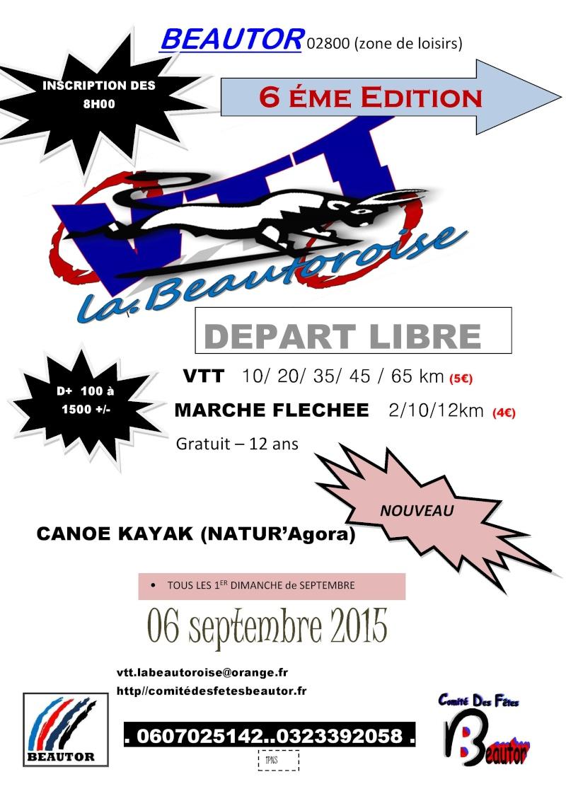 La Beautoroise Edition 2015 Affich10