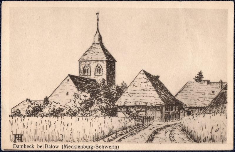 Mecklenburg und Pommern auf Ansichtskarten 1919-010