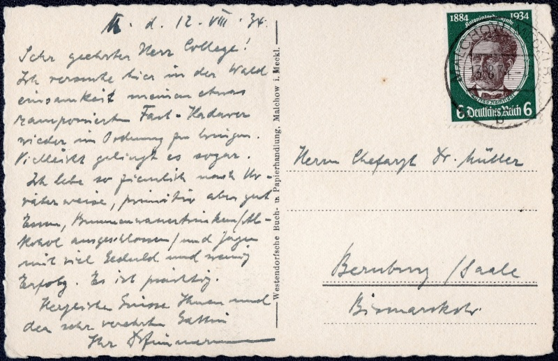 RPD Schwerin 1934 - 1945 1934-011