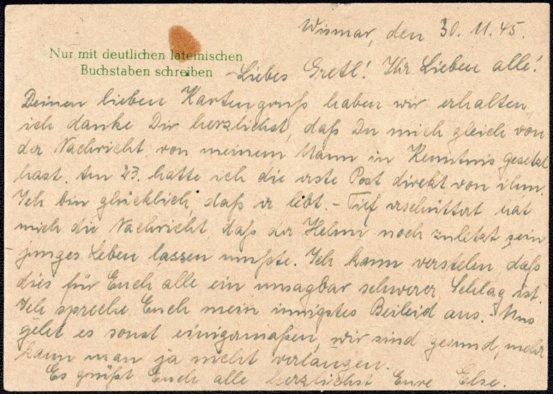 OPD Schwerin 1945 - 1952 (Teil 2) - Seite 3 1945-111