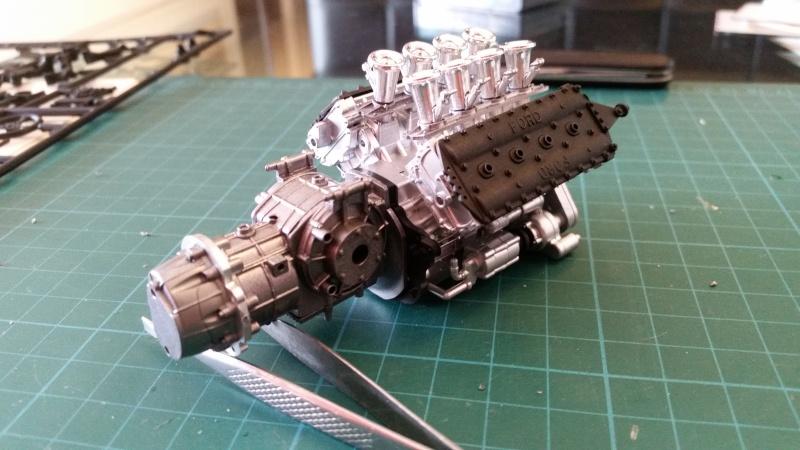 tamiya - Tamiya 1/12 Tyrrell P34 static model build 20150613