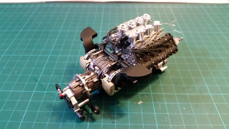 tamiya - Tamiya 1/12 Tyrrell P34 static model build 20150614