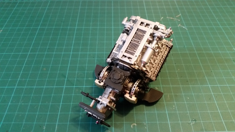 tamiya - Tamiya 1/12 Tyrrell P34 static model build 20150615