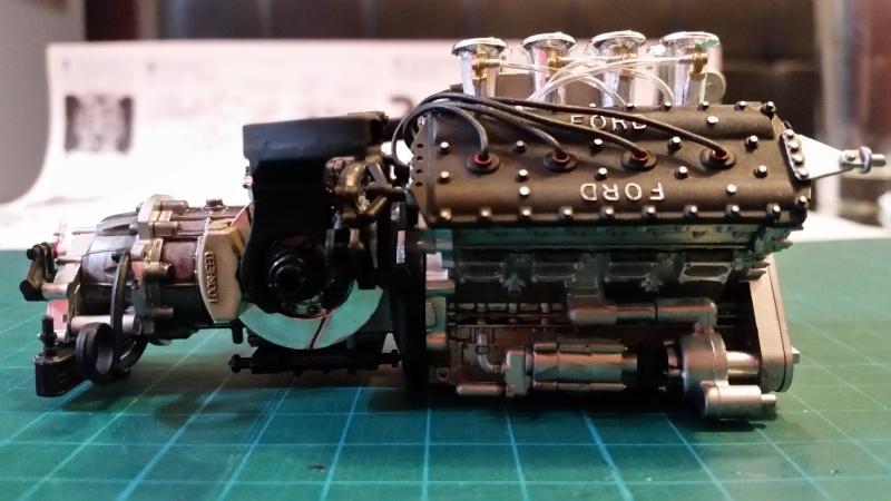 tamiya - Tamiya 1/12 Tyrrell P34 static model build 20150617