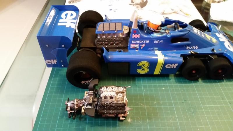 tamiya - Tamiya 1/12 Tyrrell P34 static model build 20150618