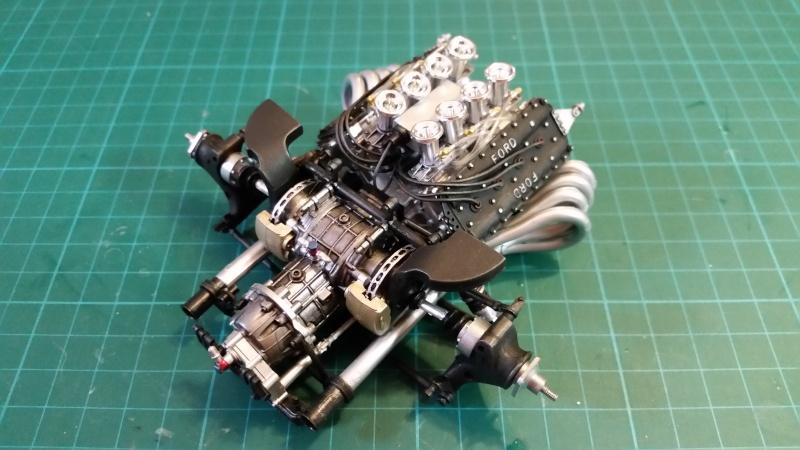 tamiya - Tamiya 1/12 Tyrrell P34 static model build 20150619