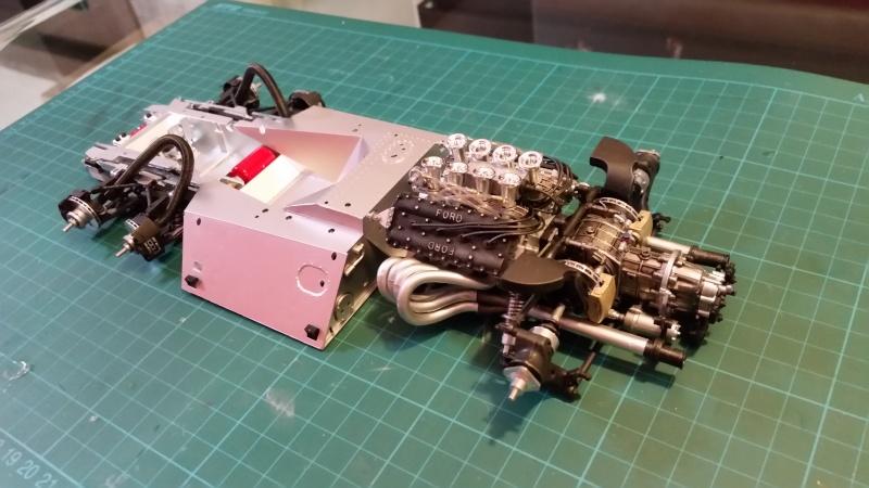 tamiya - Tamiya 1/12 Tyrrell P34 static model build 20150717
