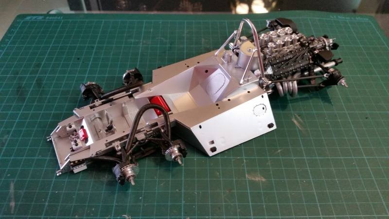 tamiya - Tamiya 1/12 Tyrrell P34 static model build 20150720